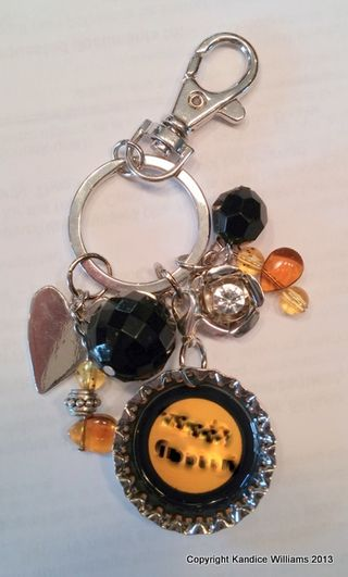 School Spirit Keychain